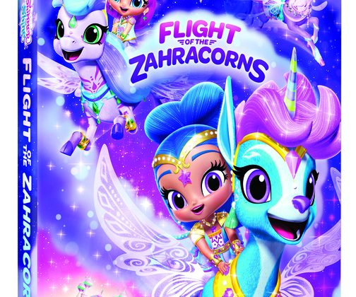 Giveaway – @NickelodeonDVD's Shimmer and Shine: Flight of the Zahracorns DVD!