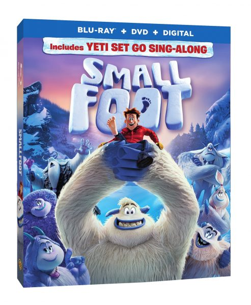 Smallfoot Blu-ray Combo Pack