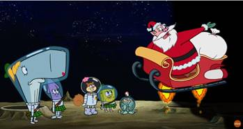 Nickelodeon's SpongeBob SquarePants Takes a Trip to the Moon