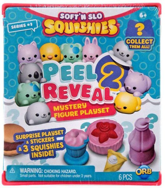 Soft'N Slow Squishies Peel 2 Reveal Mystery Pack