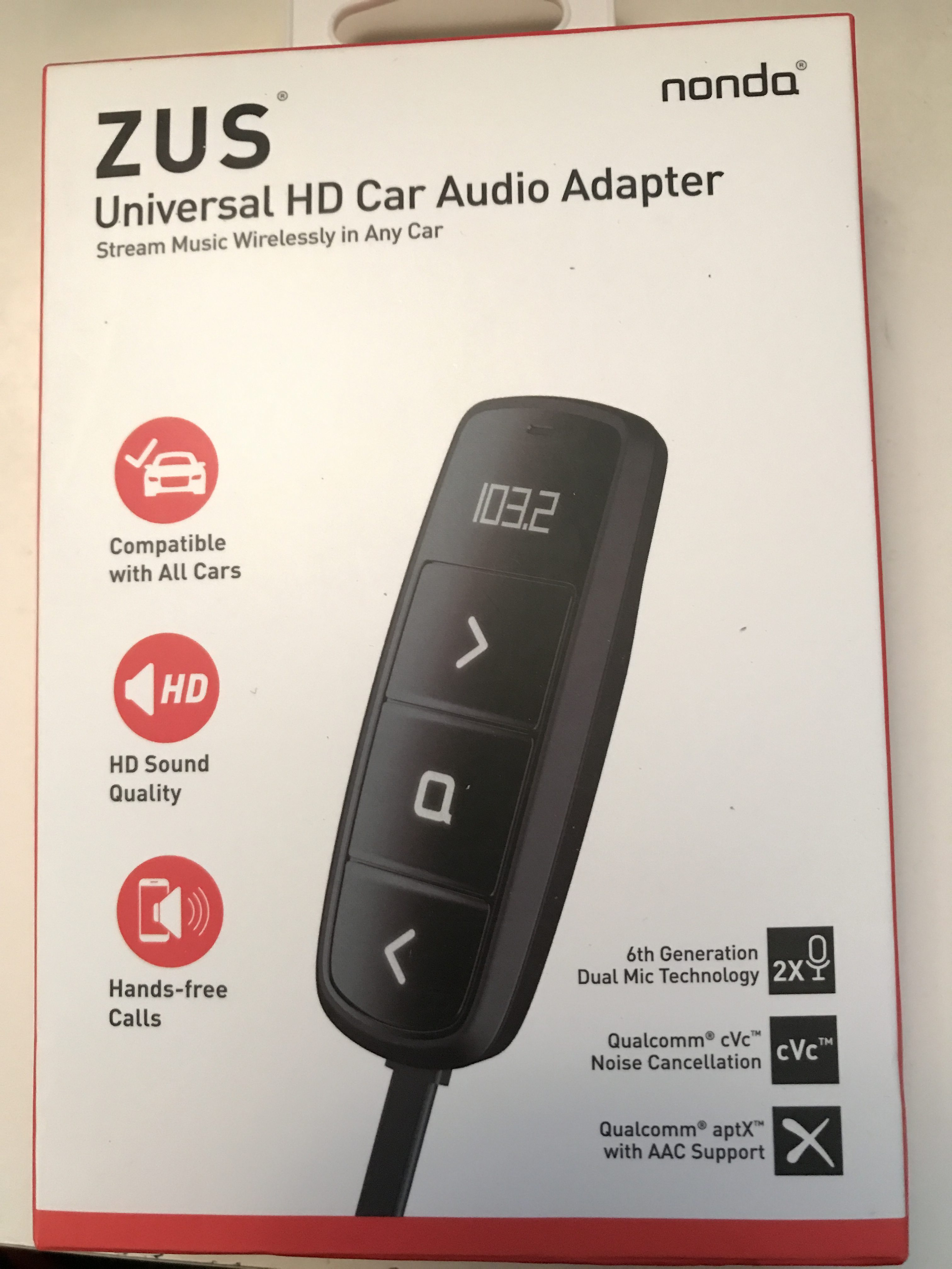 Giveaway Zus Universal Hd Car Audio Adapter From Nondainc Gay Nyc Dad