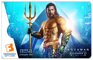 Fandango Aquaman $25 Gift Card Giveaway! #Aquaman @AquamanMovie @wbpictures @Fandango #Fandango