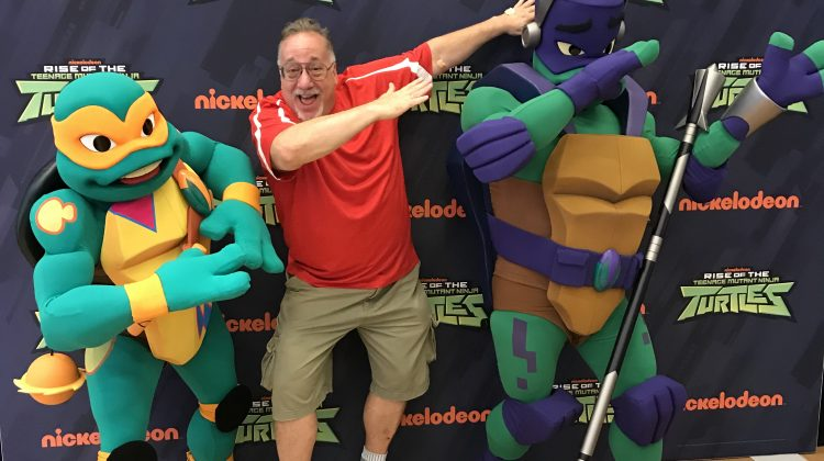 Rise of the Teenage Mutant Ninja Turtles DVD Giveaway! @NickelodeonDVD With Celebrity Picture!