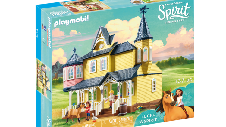"Giveaway – @Netflix's ""Spirit Riding Free"" Playset: Lucky's Happy Home from @Playmobil! @spiritridingfree #SpiritRidingFree @DreamWorksTV #DreamWorksTV"