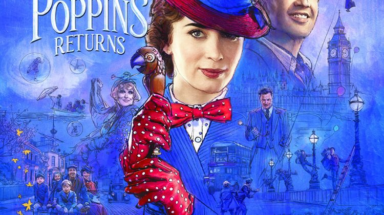 $25 Mary Poppins Returns Fandango Gift Card Giveaway! @Fandango #MaryPoppinsReturns