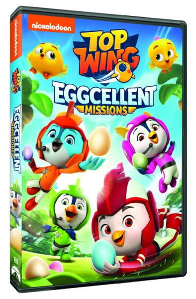 Nickelodeon DVDs Top Wing