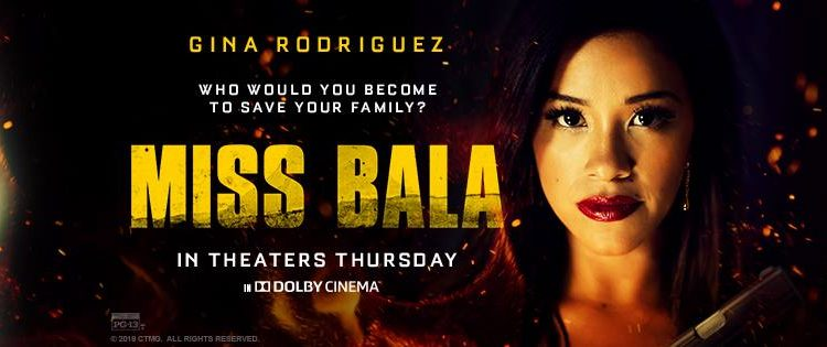 Gina Rodriguez is Miss Bala! @MissBalaMovie @MissBala #MissBala @SonyPictures #Sony @HereIsGina #GinaRodriguez