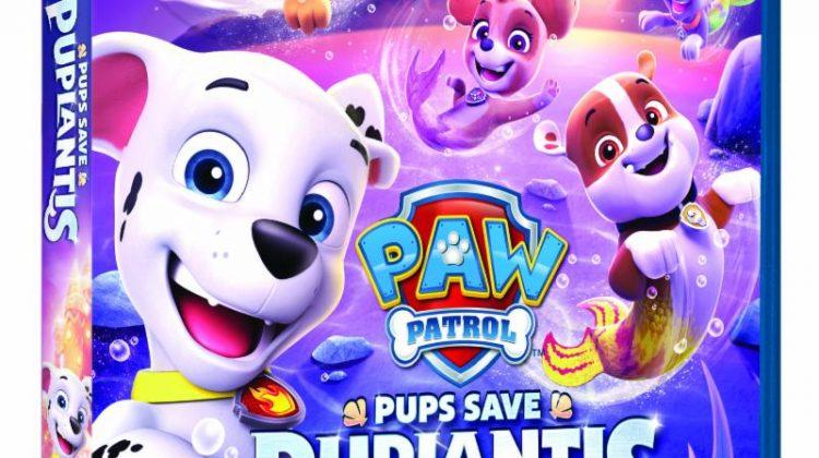 Giveaway – @NickelodeonDVD's PAW Patrol: Pups Save Puplantis DVD!