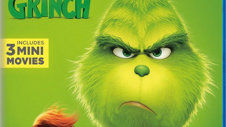 Dr. Seuss' The Grinch: Available on Digital Now & On 4K Ultra HD, 3D Blu-ray, Blu-ray and DVD February 5th! @grinchmovie #TheGrinch #grinchmovie #ad