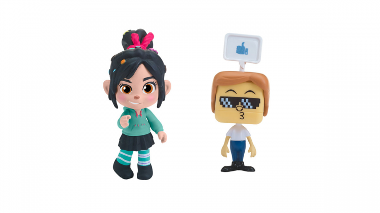 Ralph Breaks The Internet Giveaway! Ralph & Vanellope Figures From @BandaiAmerica! #RalphBreaksTheInternet @wreckitralph