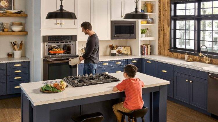 LG's Combination Double Wall Oven @BestBuy Is A Game Changer! @LGUS #ad