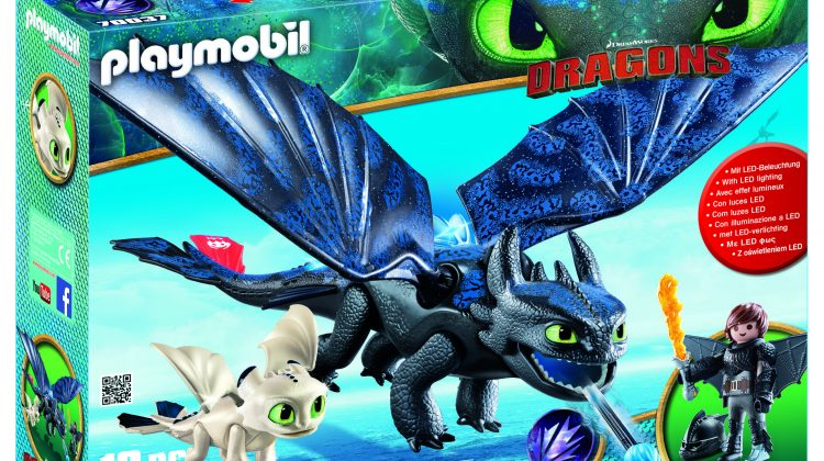 PLAYMOBIL DreamWorks Dragons Hiccup and Toothless with Baby Dragon Giveaway! #HowToTrainYourDragon @Playmobil #Playmobil #dragons @DWAnimation