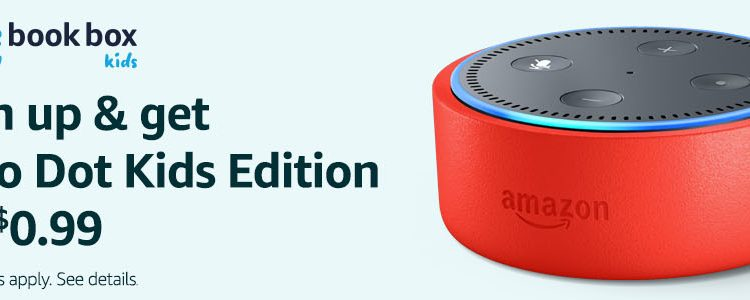 Amazon's Prime Book Box Subscription Comes With An Echo Dot Kids Edition For $0.99! Hurry, Deal Ends March 26! @Amazon #Amazon