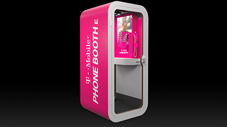 T-Mobile Revolutionizes Wireless AGAIN. Introducing New T-Mobile Phone BoothE Today! Find Out Where To Locate One! @TMobile #WeWontStop