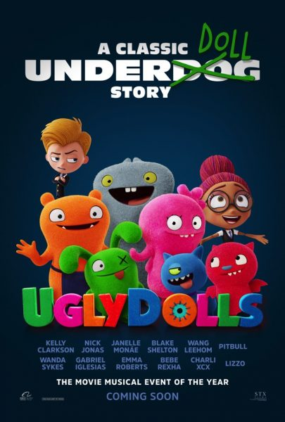 """UglyDolls Opens May 3, 2019"""