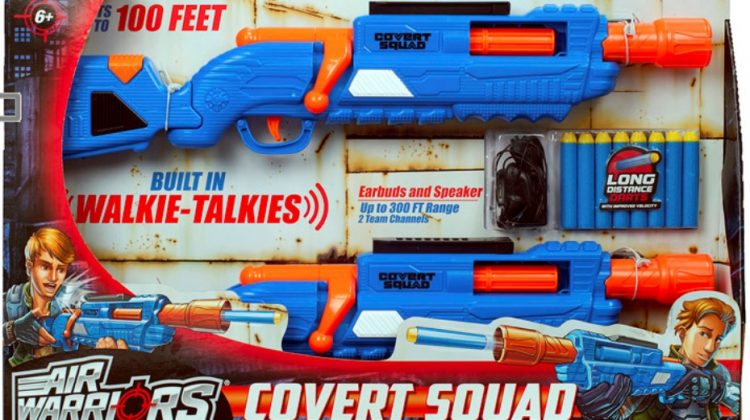 Covert Squad Dart Blasters From Buzz Bee Toys Giveaway!