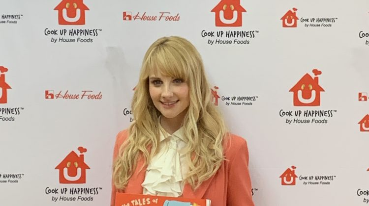 Melissa Rauch Celebrates Tofu From House Foods & Her Book: The Tales of Tofu! @MelissaRauch #Tofu