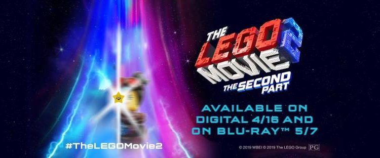 The Lego Movie 2: The Second Part, on Blu-ray & DVD on May 7th! #TheLEGOMovie2 @TheLEGOMovie #AD