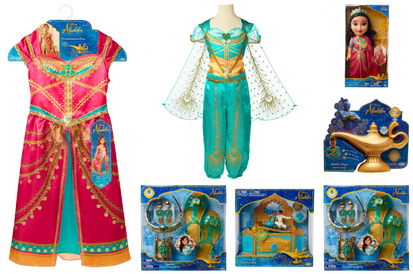 Aladdin Exclusive First Look At Products From Jakks!