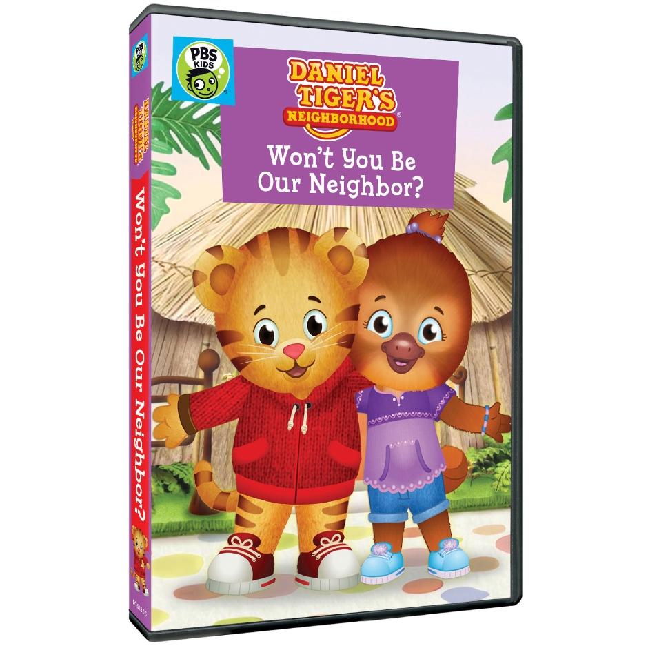 Daniel Tiger\'s Neighborhood: Won\'t You Be Our Neighbor? DVD ...