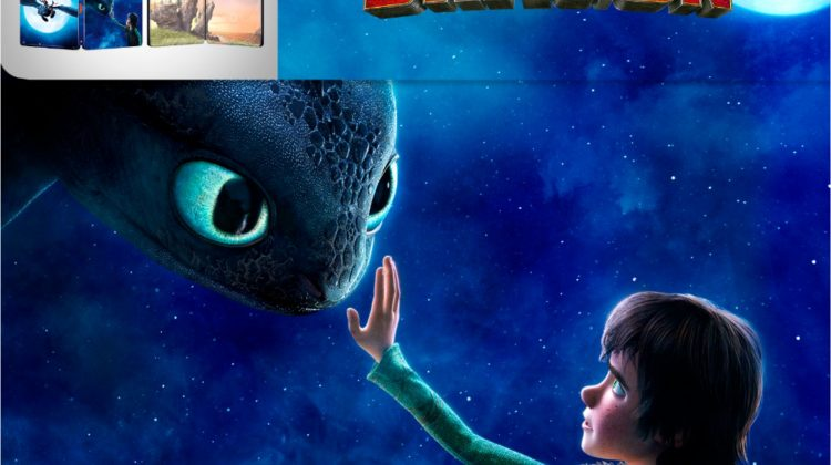 How to Train Your Dragon: The Hidden World, The Must Own Steelbook Available @BestBuy! #HowToTrainYourDragon #ad @DWAnimation
