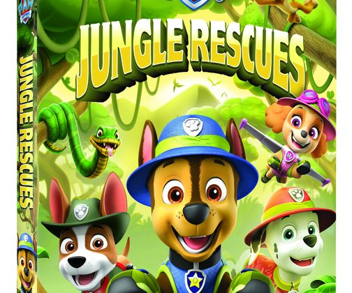 PAW Patrol: Jungle Rescues DVD Giveaway! @NickelodeonDVD #PawPatrol