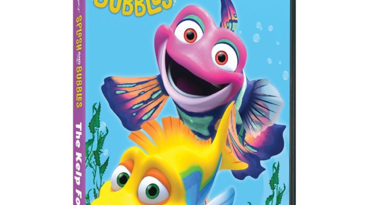 Splash and Bubbles: The Kelp Forest DVD Giveaway! #PBSKids @hensoncompany @PBSKids