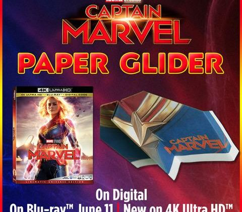 CAPTAIN MARVEL – Exclusive SteelBook Out Today @BestBuy! @CaptainMarvel #CaptainMarvel #Ad
