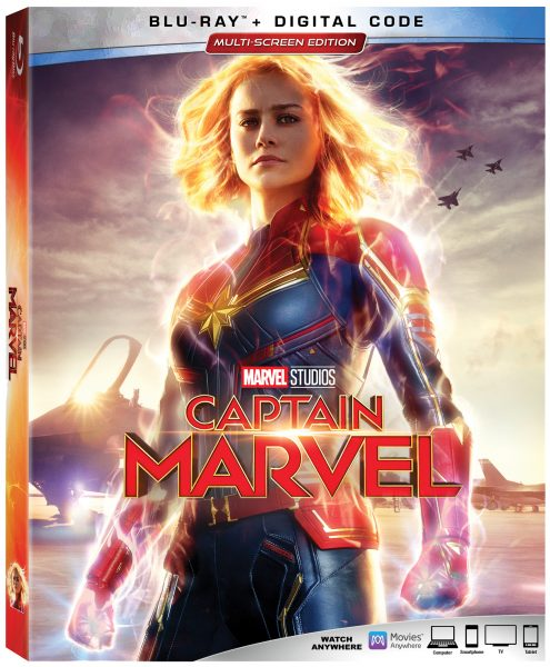 Captain Marvel on Blu-ray This Week!