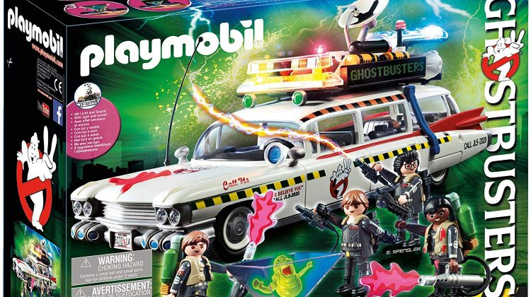 PLAYMOBIL® Ghostbusters Ecto-1A Building Set Giveaway! #NationalGhostbustersDay @playmobil #playmobil