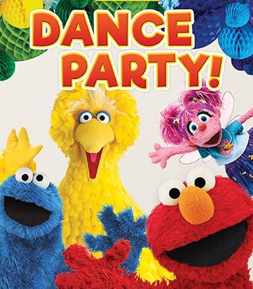 Sesame Street: Dance Party DVD Triple Giveaway! Three Winners! #ThisIsMyStreet @sesamestreet #sesamestreet