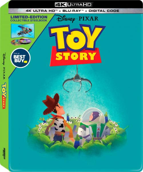 Toy Story Exclusive SteelBook