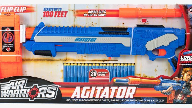 Air Warriors Agitator Blaster Giveaway! #BuzzBeeToys