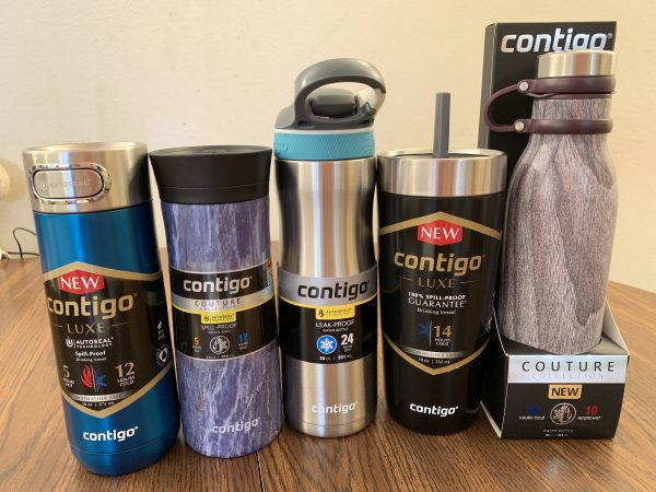 Water Bottles From Contigo For Everyone On The Go!