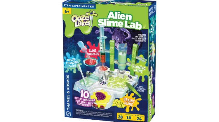 Ooze Labs: Alien Slimes Lab &  Grow A Crystal Giveaway! @ThamesAndKosmos