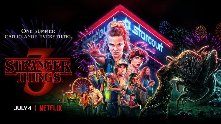 Stranger Things Returns on July 4th! @Stranger_Things #StrangerThings @Netflix #CelebrityAdjacent To @CaraBuono @calebmclaughlin @GatenM123