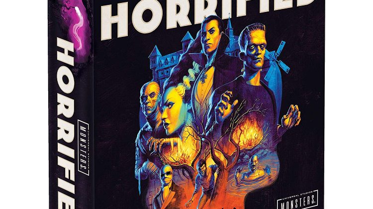 Horrified: Universal Monsters Game Giveaway! #Ravensburger