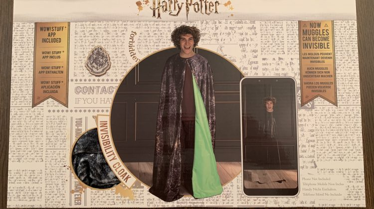 Harry Potter's Invisibility Cloak – Now Even Muggles (You) Can Become Invisible! And More! #Ad #HarryPotter #WowStuff