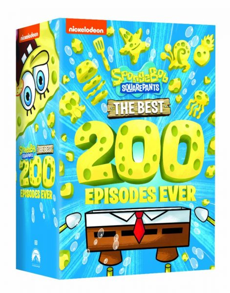 SpongeBob SquarePants: The First 100 Episodes & SpongeBob SquarePants: The Next 100 Episodes DVD Giveaway!
