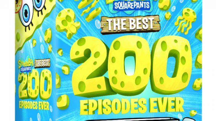 SpongeBob SquarePants: The Best 200 Episodes Ever DVD Giveaway! MSRP $77! @NickelodeonDVD #SpongeBobSquarepants #Nickelodeon