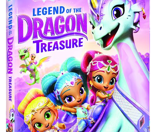 Shimmer and Shine: Legend of the Dragon Treasure DVD Giveaway! @NickelodeonDVD
