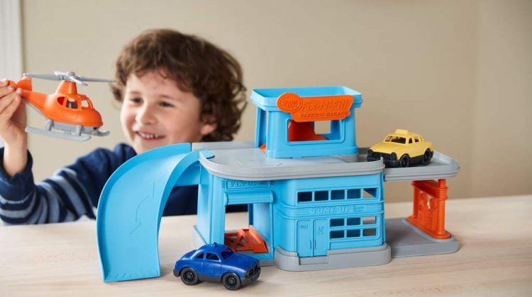 Parking Garage Giveaway! @greentoysinc #GreenToys