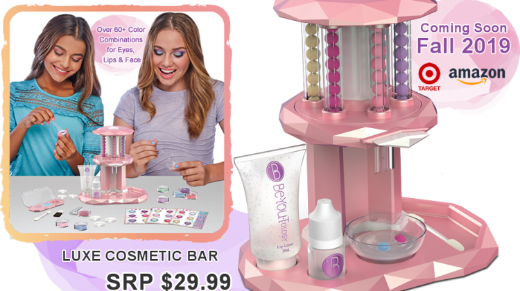 BeYouTology™ Luxe Cosmetics Bar Giveaway! @RoseArtFun @Mattel @TheToyInsider #SweetSuite19