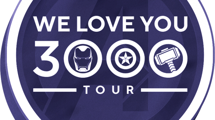 "MARVEL STUDIOS CONTINUES THE ""WE LOVE YOU 3000"" TOUR @BESTBUY IN CELEBRATION OF THIS WEEK'S RELEASE OF ""AVENGERS: ENDGAME!"" @Avengers #AvengersEndgame @Marvel #Marvel"