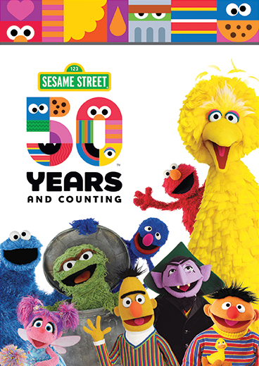 Sesame Street: 50 Years And Counting DVD!