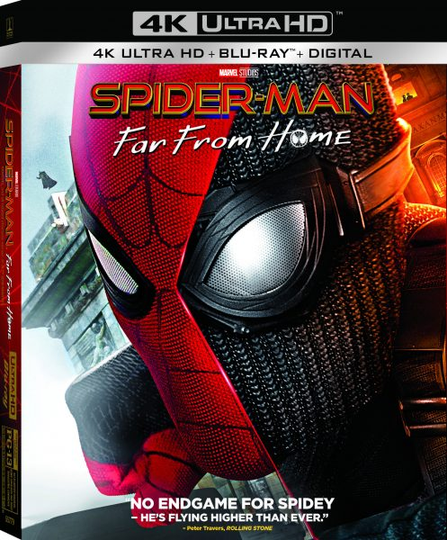 Spider-Man: Far From Home - Own The Blu-ray Now!