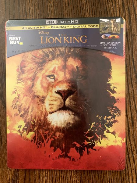 Disney's The Lion King SteelBook Collectible