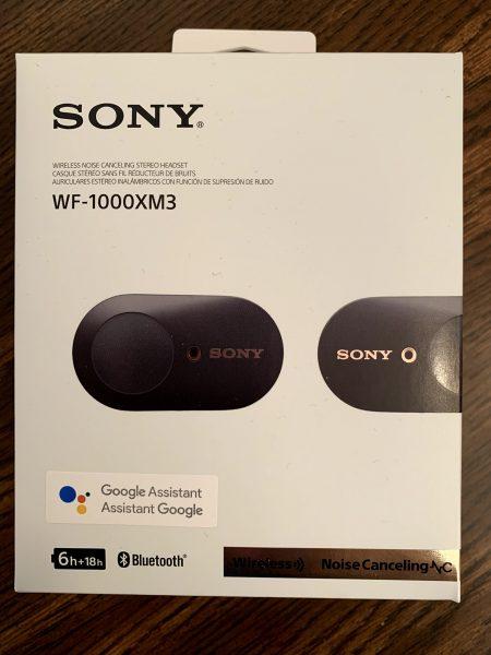 New Sony Wireless Headphones