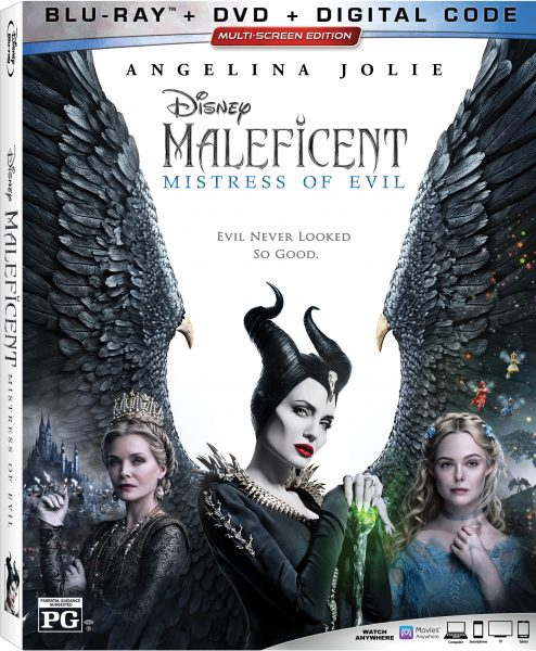 Disney Maleficent: Mistress of Evil Double Combo Pack Giveaway