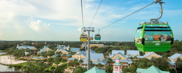 Disney Skyliner, the Gondola in the Sky!